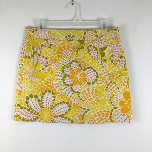 J. Crew RETRO Mini Skirt Stretch with Pockets